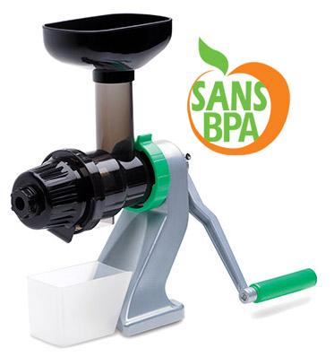 Extracteur de jus manuel  Z-Star 710 sans BPA