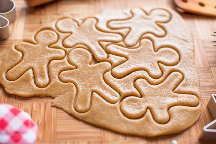 recette de noël crue : gingerbread men