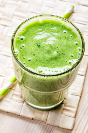 les smoothies verts
