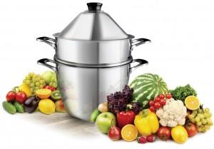 la cuisson à la vapeur douce avec le cuit vapeur Vapok