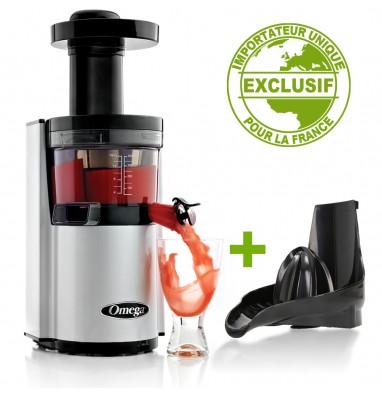 promo-pack-extracteur-omega-vsj843-argente-kit-presse-agrumes