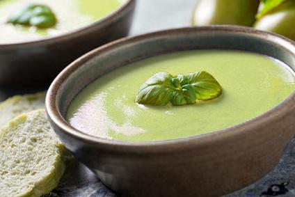 soupe de brocoli au blender