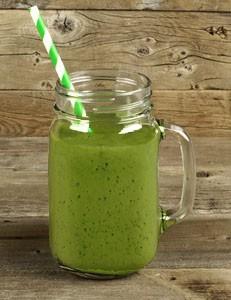 recette de smoothie vert rafraîchissant