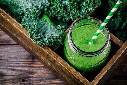 recette de smoothie vert du mois de novembre