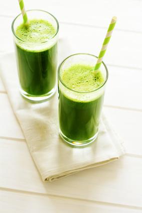 recette de jus vert rafraîchissant