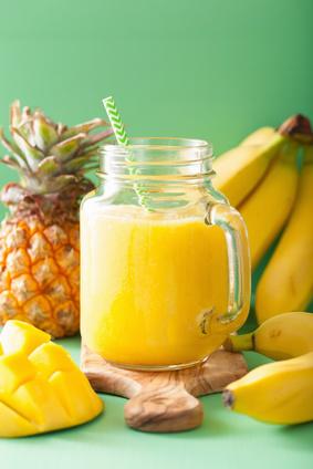 Recette de smoothie énergisant smoothie in mason jars