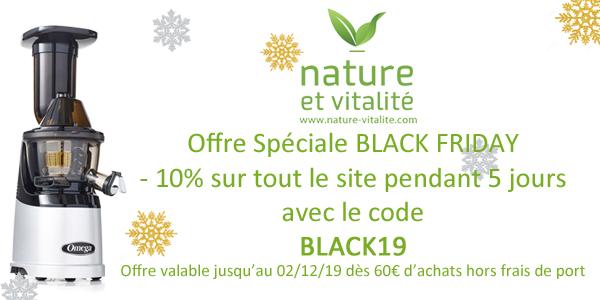 Offre spéciale BlackFriday !