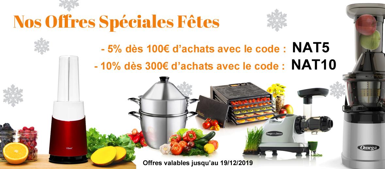 codes promo spéciale Noël