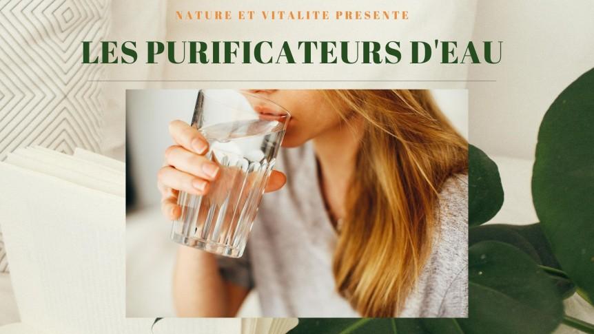 Purificateurs d'eau